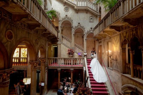 ホテル ダニエリ 階段