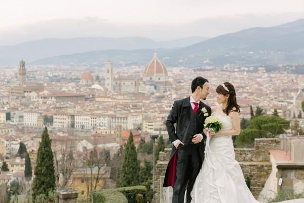 フィレンツェの丘にて